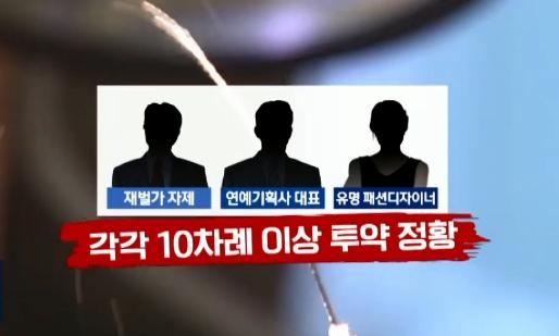 """[단독]""""배우·재벌가 자제, 기계 동원해 프로포폴 10...."""