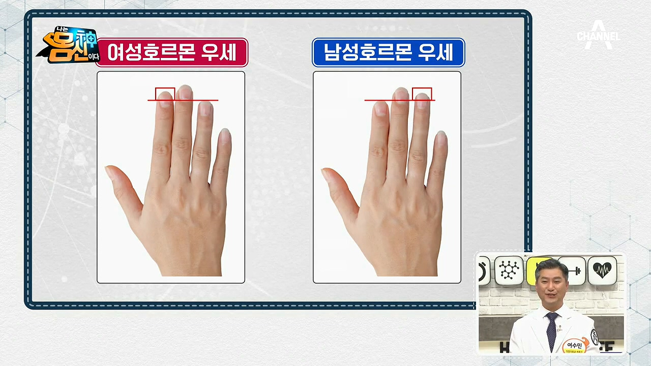[성호르몬 밸런스 자가 진단법] 손가락 길이로 확인하는 호르몬 균형!