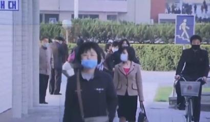 [리액션 뉴스]평소처럼 마스크 쓰고…평양 공개한 北