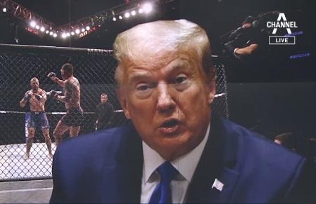 """""""우리는 스포츠가 필요해"""" 트럼프 축사 속에 UFC 재...."""