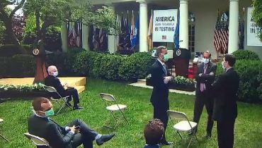 美 백악관, 뒤늦은 '마스크 착용 의무화'[글로벌 뉴스....
