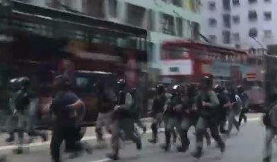 """""""하늘이 중국 공산당 멸망""""…홍콩 시위 격화로 '긴장감...."""