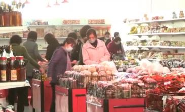 평양에 등장한 '슈퍼마켓'…'식료품 부족' 일축 위해?