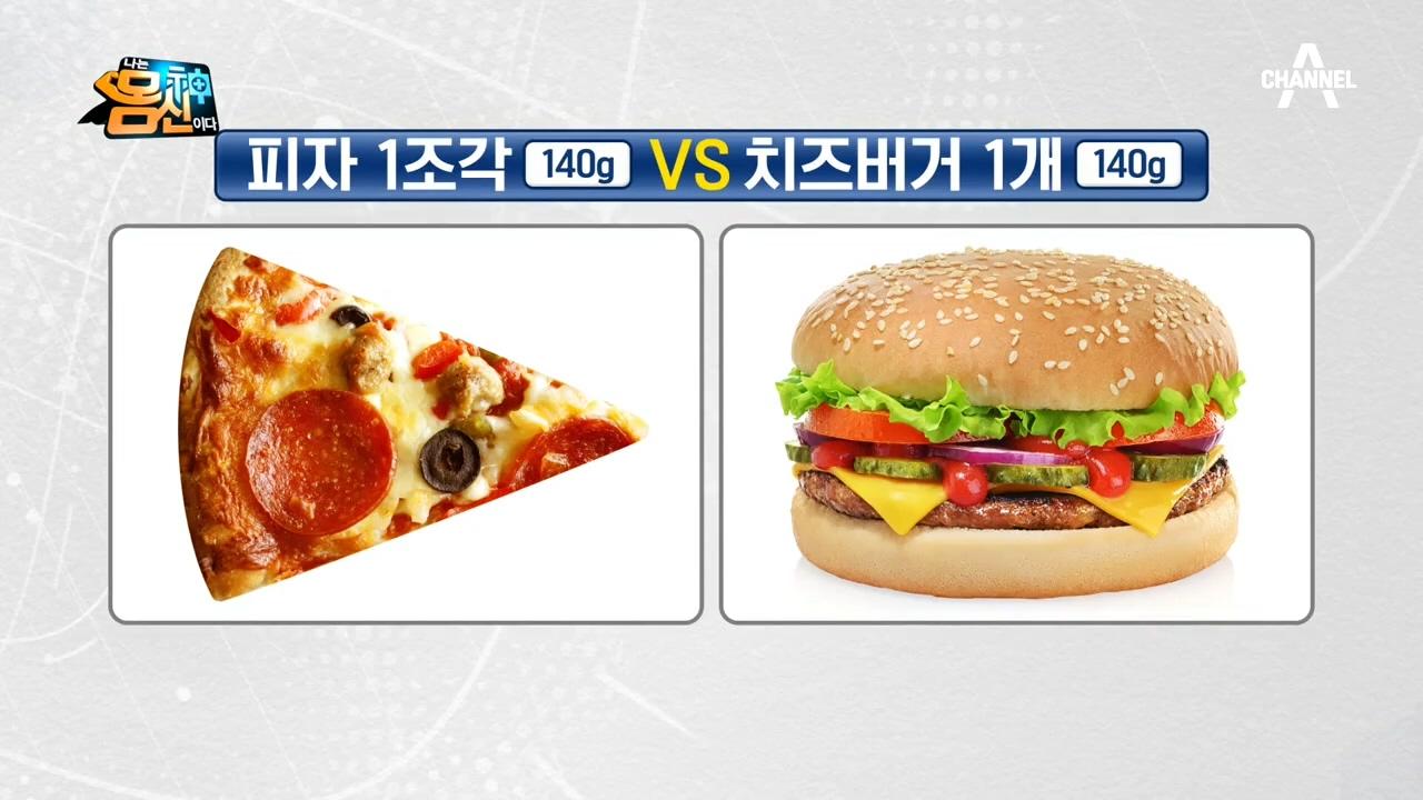 *CSI지수 퀴즈* 피자 vs 치즈버거, 다음 두 음식....