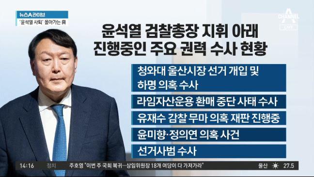 추미애·윤석열, 넉 달여 만에 청와대서 대면