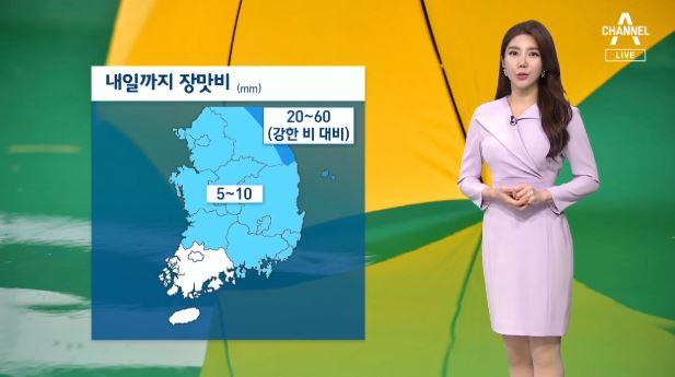 [날씨]강원 영동 비 더 내려…동해·남해 '풍랑특보'