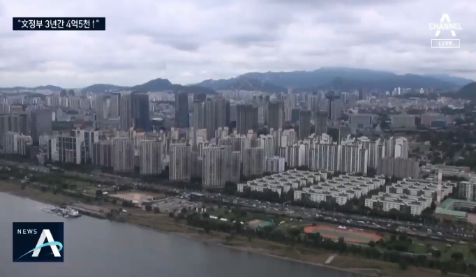 강남·강북 아파트 차액…27년 만에 100배 차이
