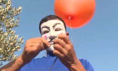 봉쇄정책 항의…이스라엘에 '방화풍선' 날리는 팔레스타인