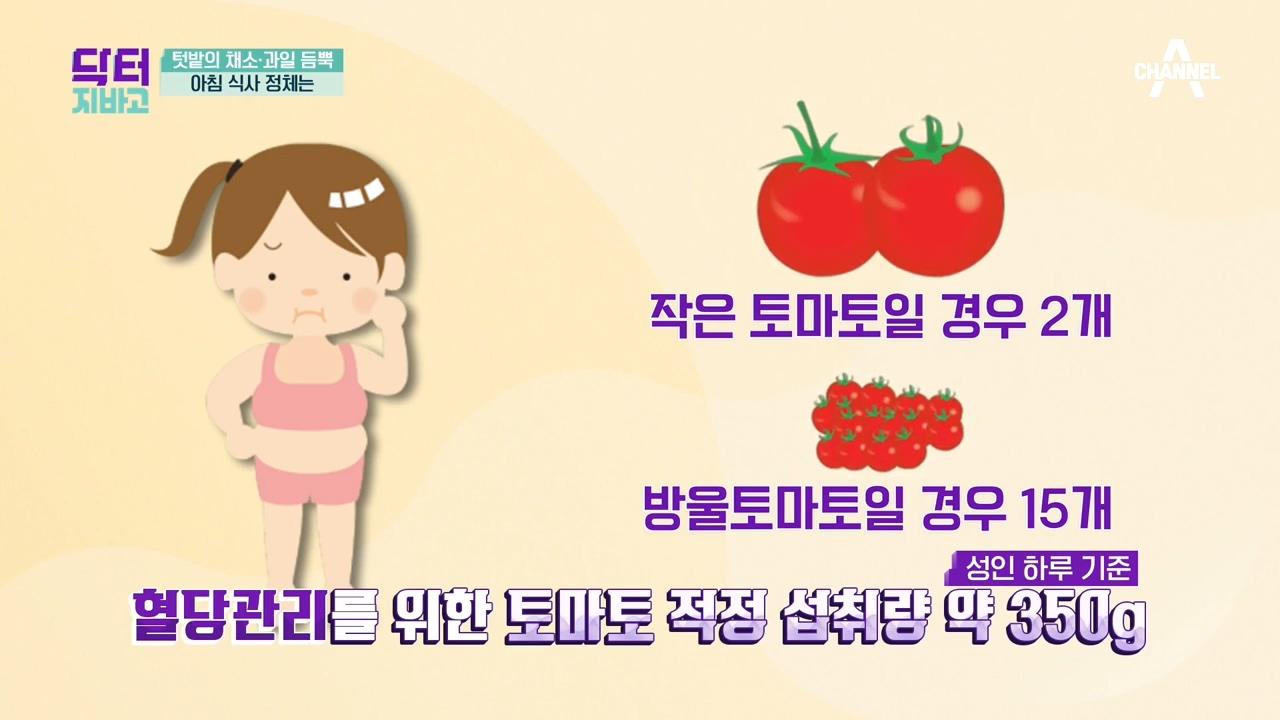 혈당관리에 좋다는 토마토! 얼마나 먹어야 할까?
