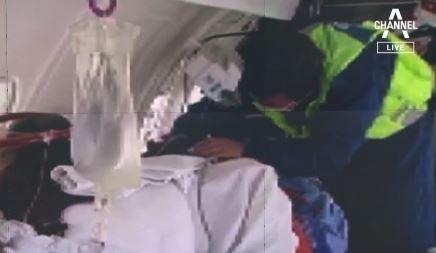 '코로나 후유증' 멕시코 교민, 구급 비행기로 한국 이....