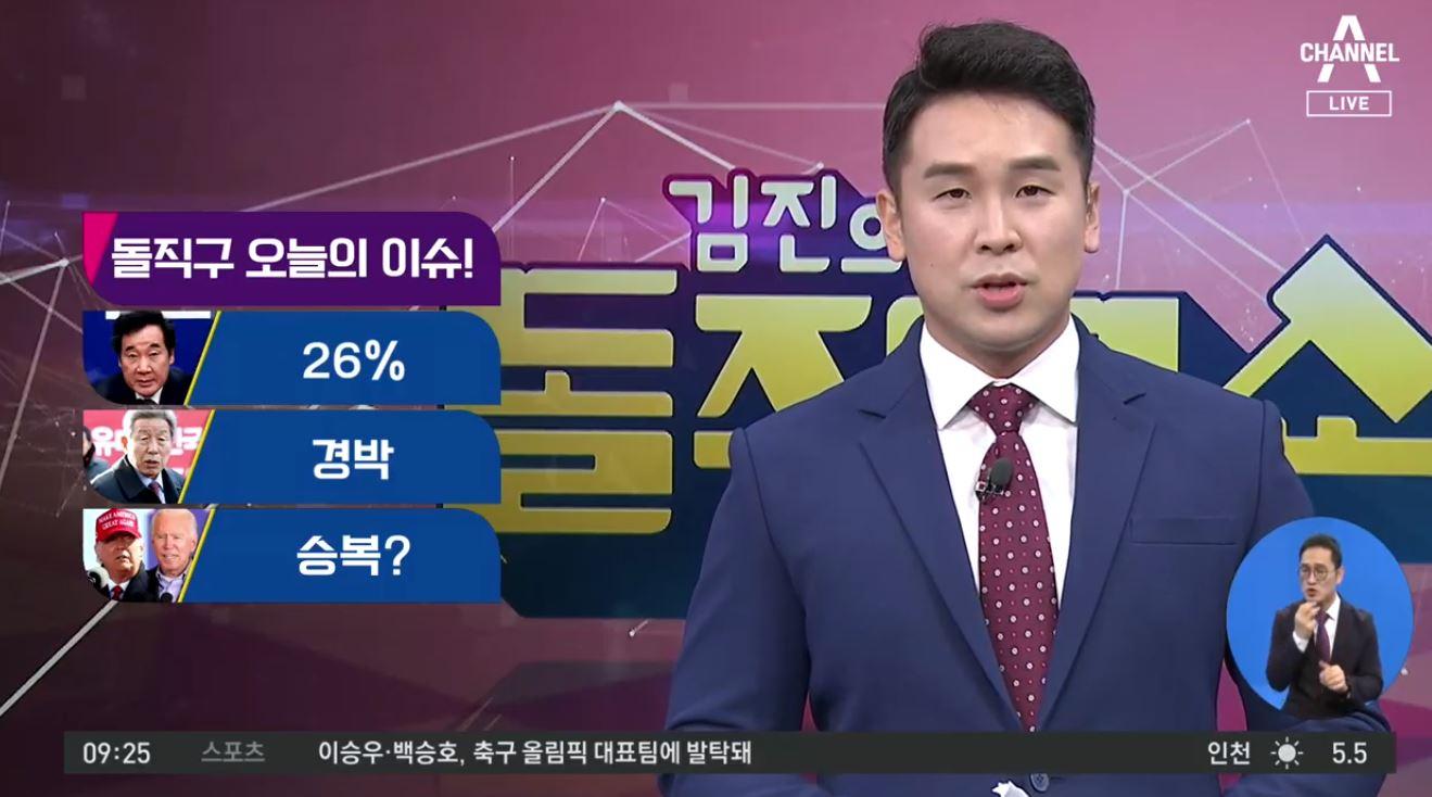 [2020.11.3] 김진의 돌직구쇼 602회