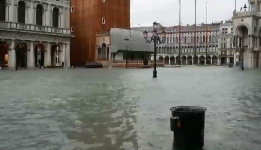 [세상터치]또 물에 잠긴 베네치아 / 들판에 베토벤 얼....