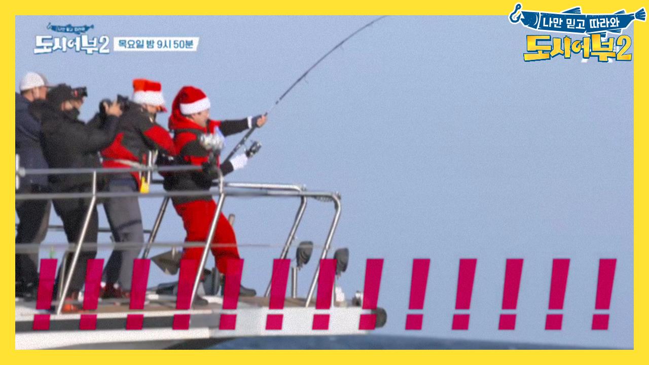 [선공개] 미터급 대부시리?! 크리스마스에 기적이 올까....