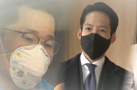 검사소 달려온 자원봉사 의사들…병상 나눈 병원들