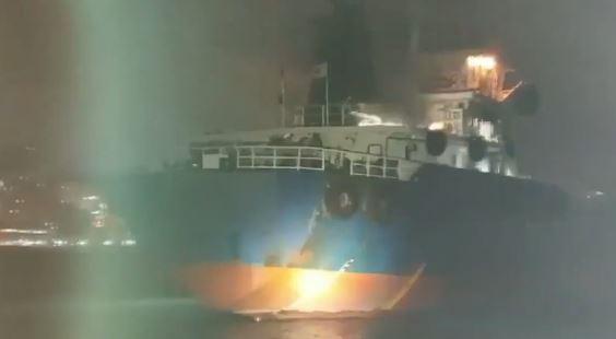 부산 유조선 화재, 4시간 만에 진화…미얀마 선원 1명....