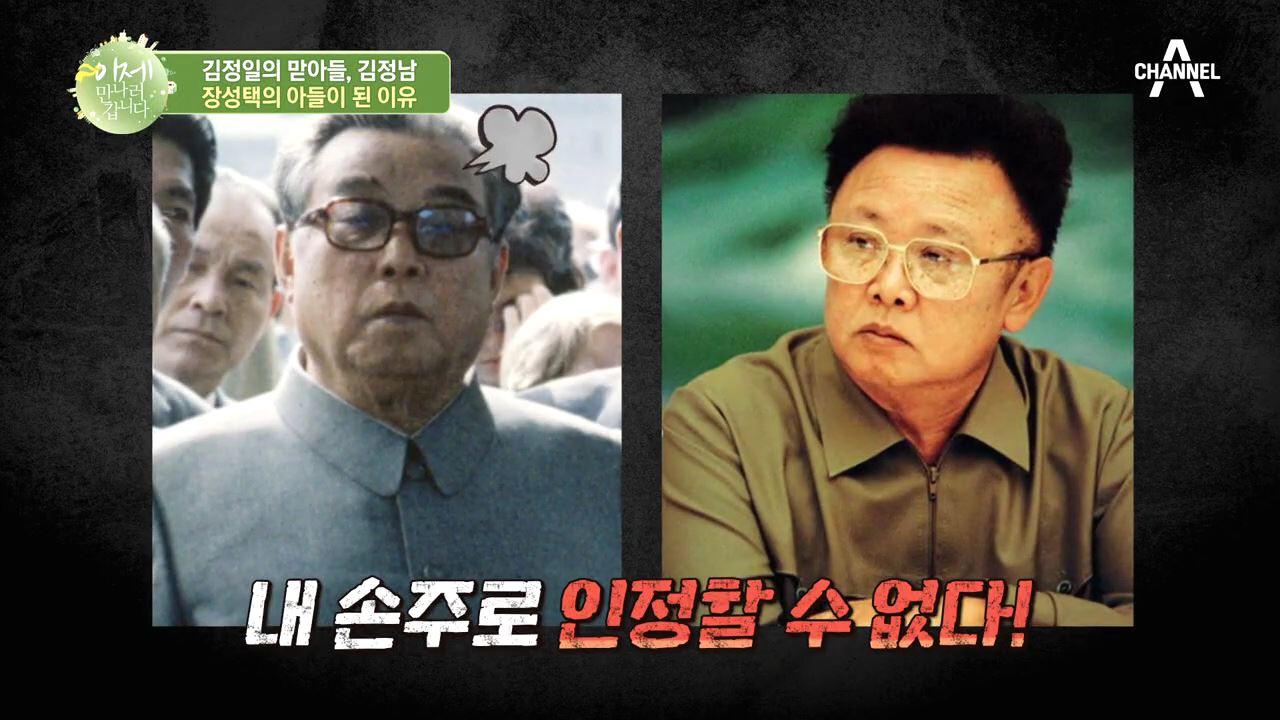 김정일의 아들 김정남, 장성택의 아들이 된 이유?!