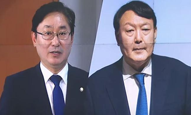 """박범계 """"尹 패싱 아니다""""…윤석열 """"'인사안' 약속 안...."""