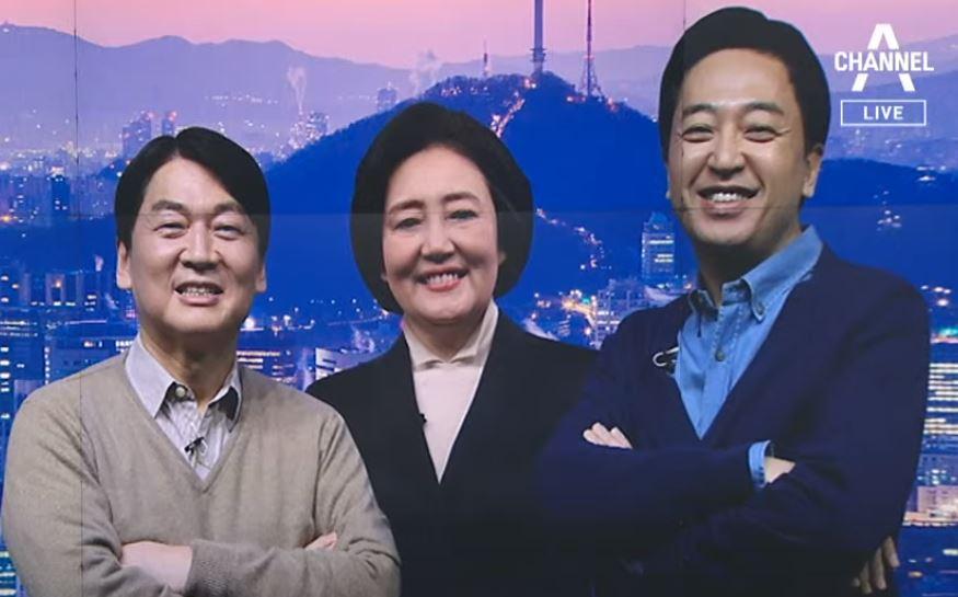 """""""박영선 이길 사람은?""""…안철수 vs 금태섭 여론조사 ...."""
