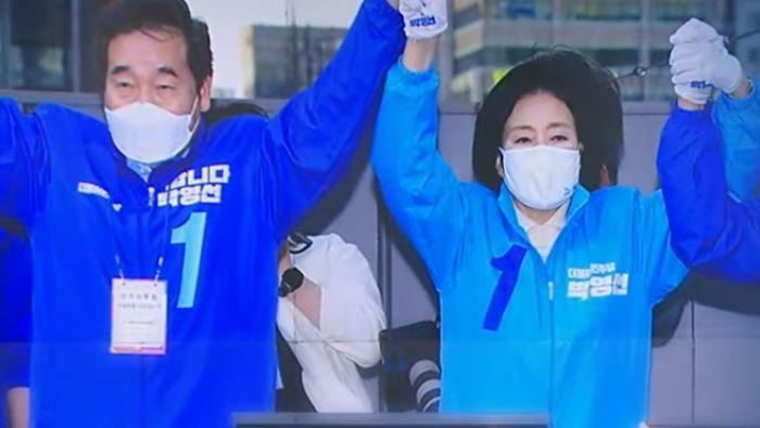 """민주당 """"3%p 내외 박빙 승부""""…마지막까지 지지층 잡...."""