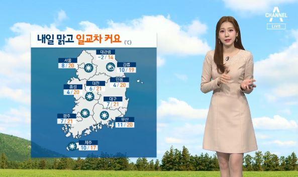 [날씨]내일 전국 맑고 큰 일교차…아침 기온 서울 8도