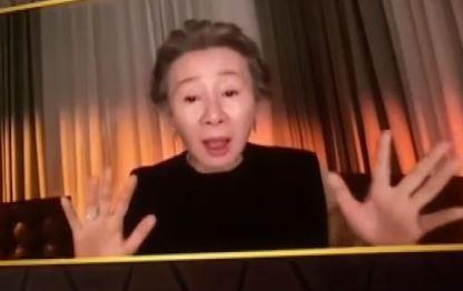 윤여정 여우조연상 38관왕…오스카 예약?