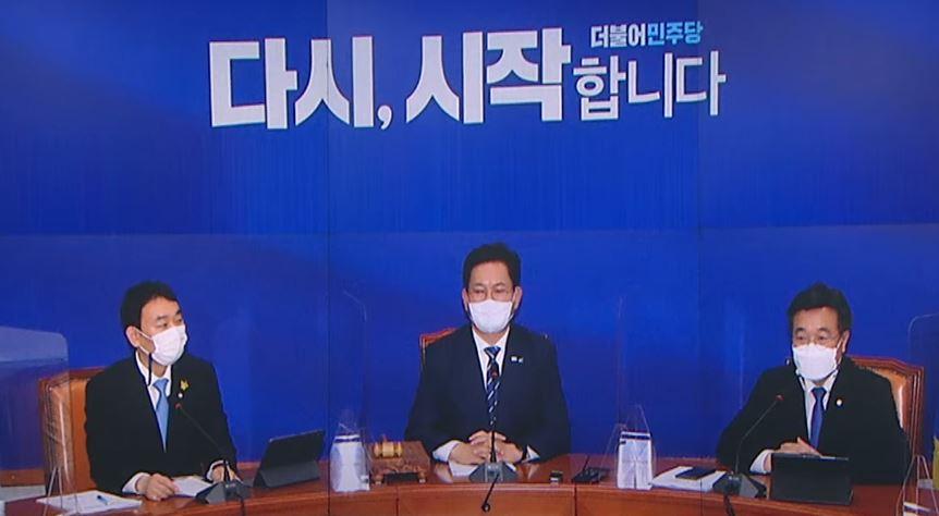 부동산·문자폭탄…비문 대표-친문 최고위원 '엇박자'
