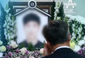 """한강 실종 대학생 애도 속 발인…유족 """"고맙고 아쉽다"""""""