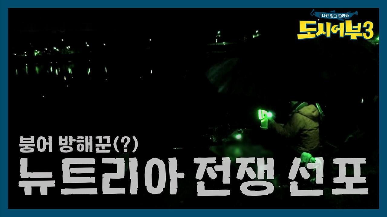 [선공개] 킹덕화, 붕어 방해꾼 뉴트리아와의 전쟁 선포....
