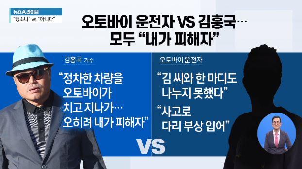 김흥국 뺑소니 사건 의혹?…블랙박스 영상 다시 보니