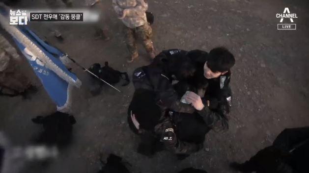 [뉴스를 보다]포기 모르는 '강철부대' SDT 김민수·....