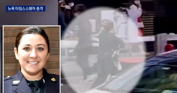 총격당한 4살 아이 안고 전력 질주한 美 여성 경찰관