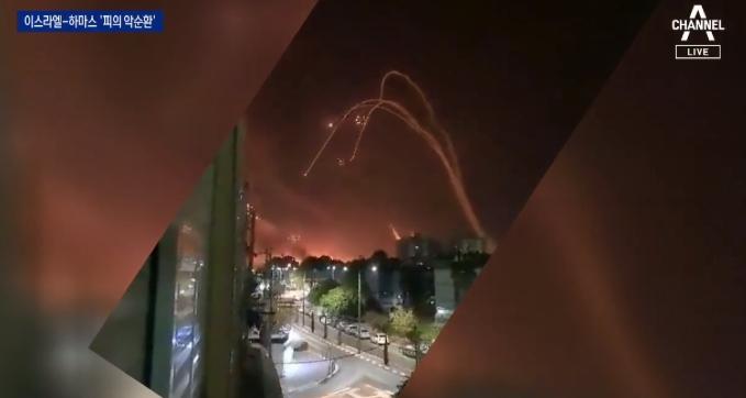 미사일 90% 막은 이스라엘군 '아이언돔'…피의 보복 ....