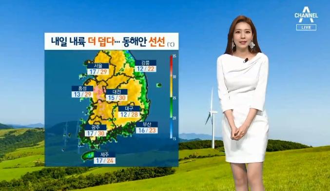 [날씨]내일 더 덥다…내륙 낮 기온 30도 육박