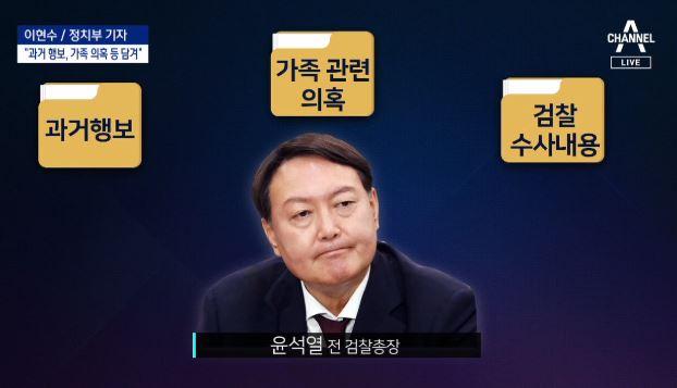 '윤석열 X-파일' 2가지 버전 나돌아…여야, 출처 공....