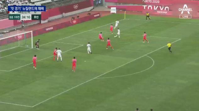 한방이 부족했던 김학범호, 뉴질랜드에 0-1 패배