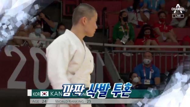 [올림픽 영상]'삭발 투혼' 32강 탈락했지만…