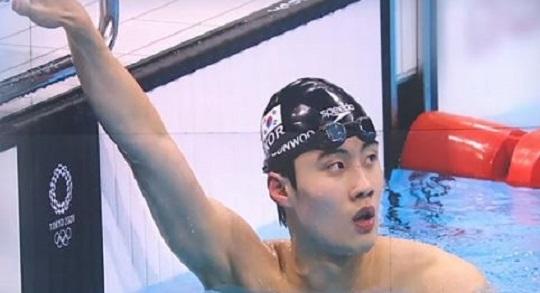 아시아 한계 넘고…'자유형 100m' 황선우, 결승 진....