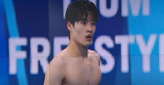 황선우, 100m 멋진 5위…한국 수영 역사 썼다