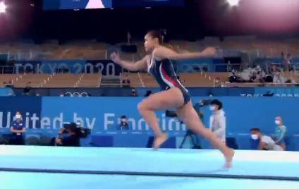 여서정 동메달…한국 최초 올림픽 부녀 메달