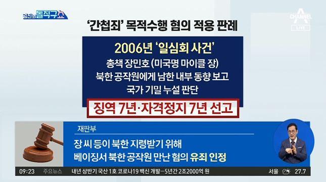 [2021.8.6 방송] 김진의 돌직구쇼 799회