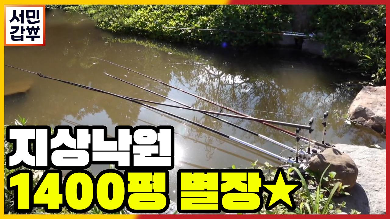 [선공개] '낚시터에 포도밭에..' 1400평 별장 클....