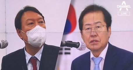 """윤석열 """"그럴 듯한 공작""""…홍준표 """"사실이라면 범죄"""""""