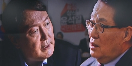 """""""박지원, 공갈 협박하나""""…윤석열 캠프 '격앙'"""