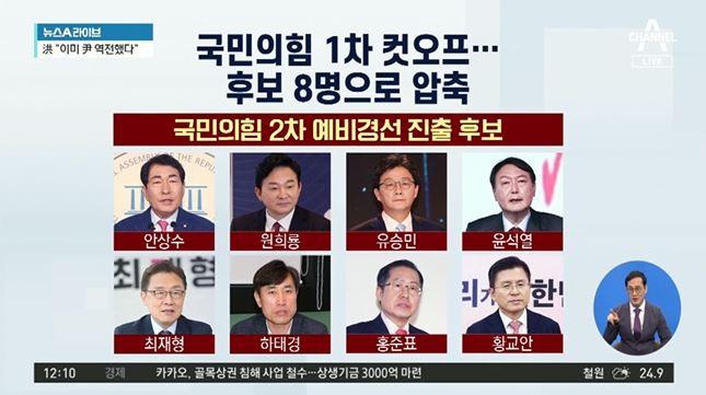 국민의힘 1차 컷오프…尹 대세론? 무야홍?