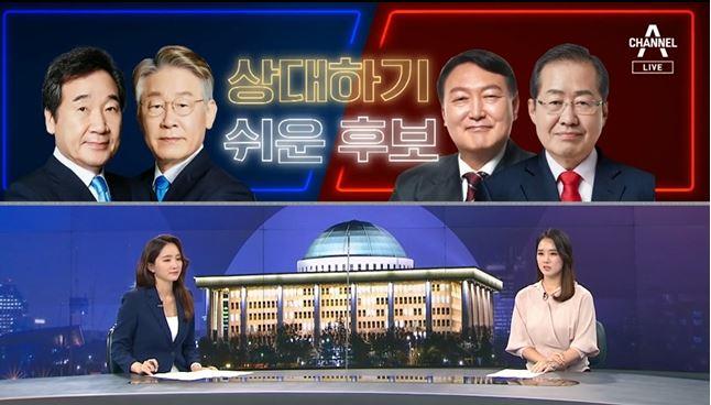 """[여랑야랑]'상대하기 쉬운 후보' / 홍준표, """"조국수...."""