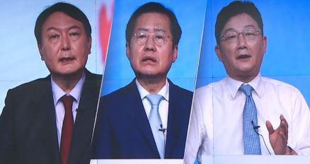윤석열 '토론 공부'-홍준표 '여성 공약 보류'-유승민....