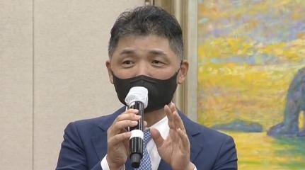 """""""가족끼리 돈놀이 하나""""…국감장서 질타받은 김범수"""
