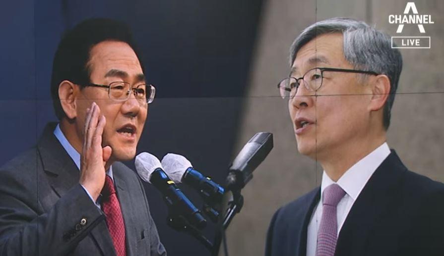 尹, 주호영 선대위원장으로 영입…최재형은 洪 캠프 합류....