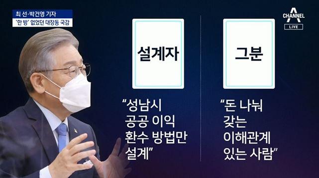 '한 방' 없었던 대장동 국감…이재명 후보의 '선긋기'....
