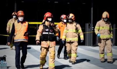공사장서 불 끄는 가스에 질식…2명 사망·19명 부상